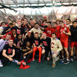 Big Red Sweep Title, Honors
